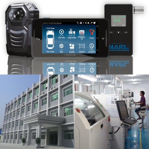 獅科發展公司主力生產的保安產品及其廠房