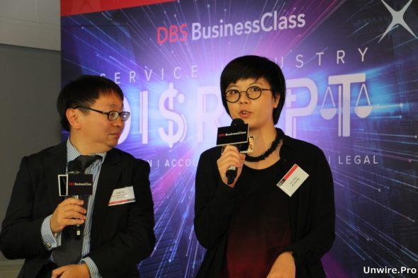 Dragon Law 聯合創辦人 Ryanne Lai 表示,Dragon Law 希望將科技融合法律,為中小企提供簡單的法律服務,例如在網上登入後回答簡單問題就能生成合約等法律文件,同時中小企又能負擔收費。