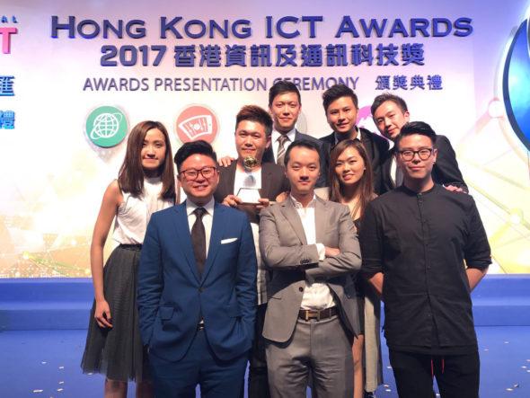 Atalon Ventures 行政總裁葉嘉興(圖左三)及產品研發團隊